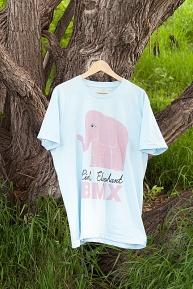 T-shirt: Pink Elephant BMX