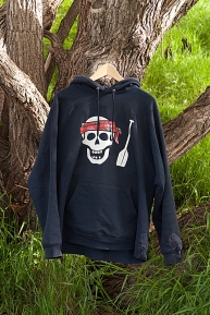 Sweatshirt: Solo Canoe Pirate