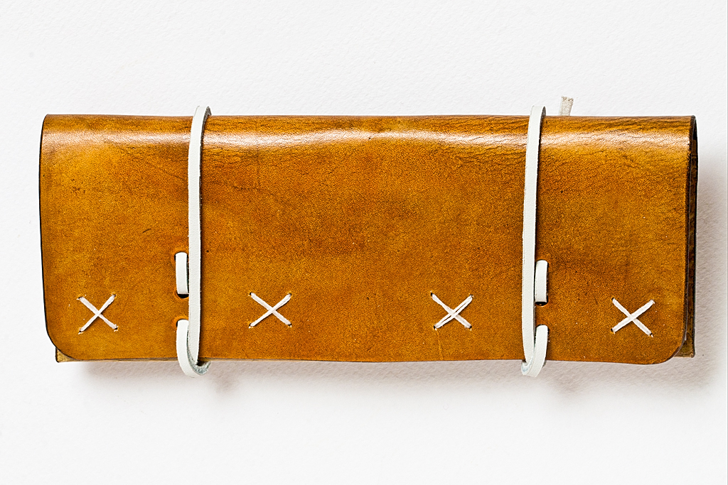 Leather Tobacco Pouch: White Wizard