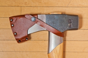 Axe - Gränfors Bruks Splitting Maul detail sheath