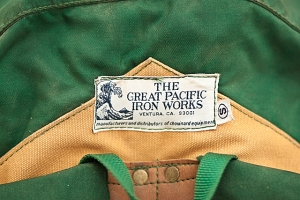 Great Pacific Iron Works Ultima Thule Backpack label