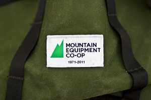 MEC Klettersack 4th Anniversary Edition label