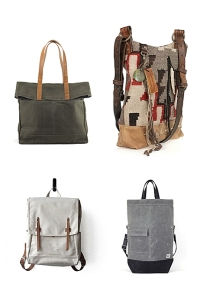 Leather and Canvas Bags inspiration