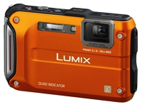 GPS-enabled Panasonic Camera