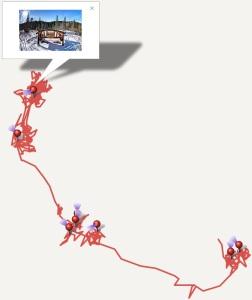 Canon MapUtility GPS Track