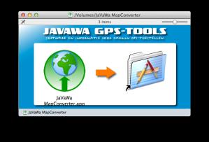 Installing JaVaWa MapConverter