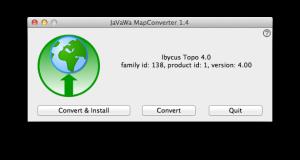 JaVaWa MapConverter - Ready To Convert