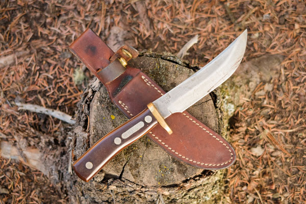 Schrade Walden 165 Old Timer Knife with Sheath