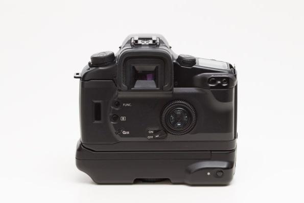 Canon EOS Elan 7 Camera w/ BP-300 Vertical Grip