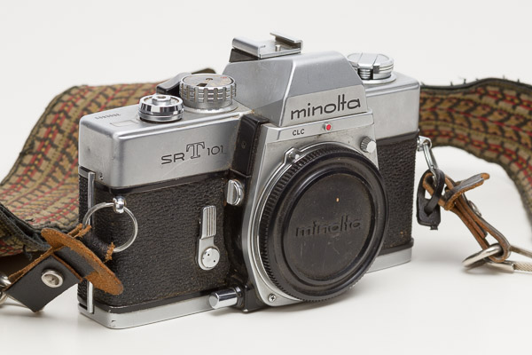 Minolta SR-T 101 35mm Film Camera