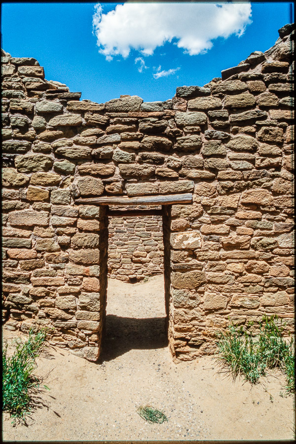 Door At Aztec Ruins National Monument