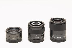 Canon EF-M Prime Lenses