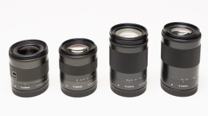 Canon EF-M Zoom Lenses