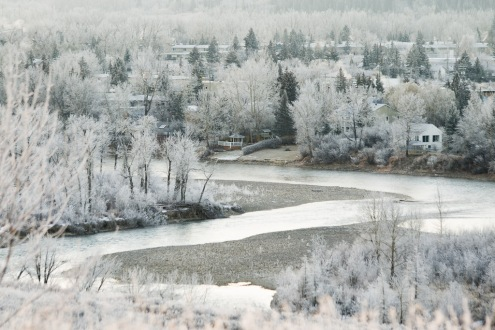 Frost In The River Valley