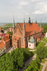 Cathedral Viewed From The Bell Tower, Frombork, Poland