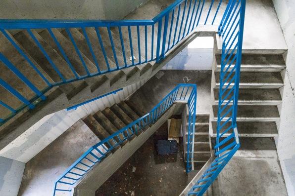 SAIT Parkade Stairwell