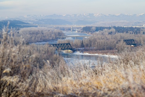 The Bow River Valley, from Calgary to the Canadian Rockies