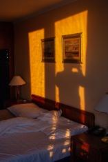 Sunrise Hotel Room, Budapest